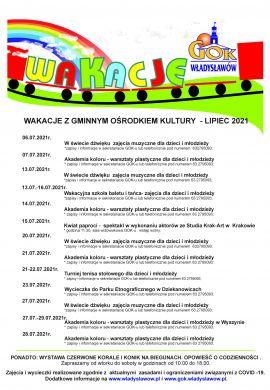 Wakacje z Gminnym Ośrodkiem Kultury we Władysławowie