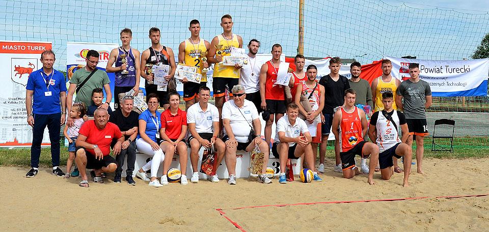 Miłośnicy siatkówki plażowej rywalizowali w Powiatowym Turniej Piłki Siatkowej Plażowej