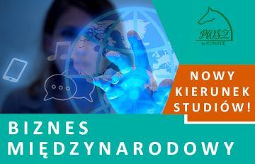 Nowe kierunki na studiach w PWSZ w Koninie