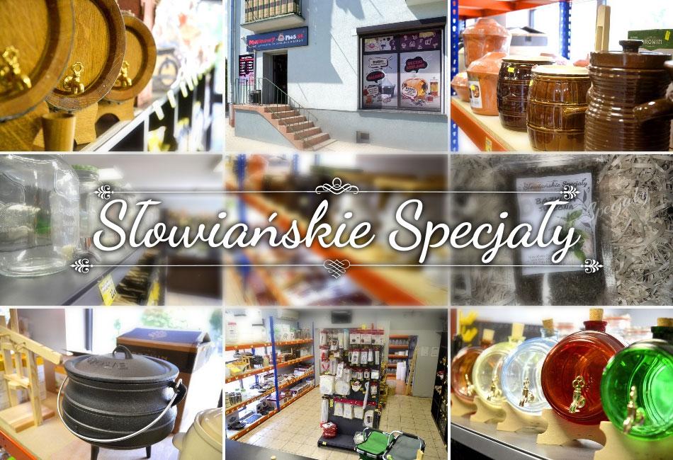 Sklep Słowiańskie Specjały czyli wszystko dla miłośników tradycyjnych smaków