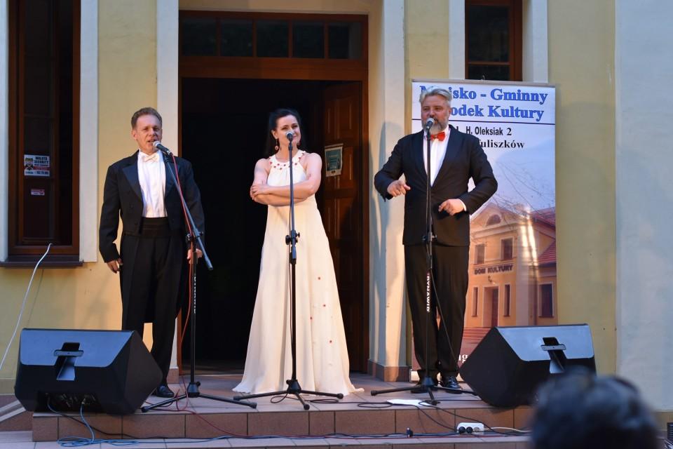 Muzyczna uczta na inaugurację kolejnej odsłony Letniej Filharmonii Parkowej - Źródło: MGOK Tuliszków