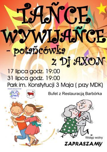 Tańce wywijańce w parku im. Konstytucji 3 Maja