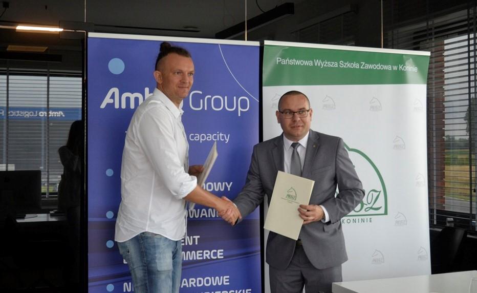 Ambro Logistics partnerem studiów dualnych PWSZ w Koninie