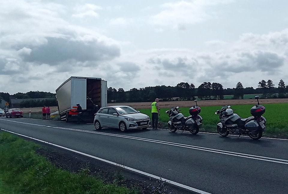 Kierowca ciężarówki jechał z 3,7 promila alkoholu we krwi