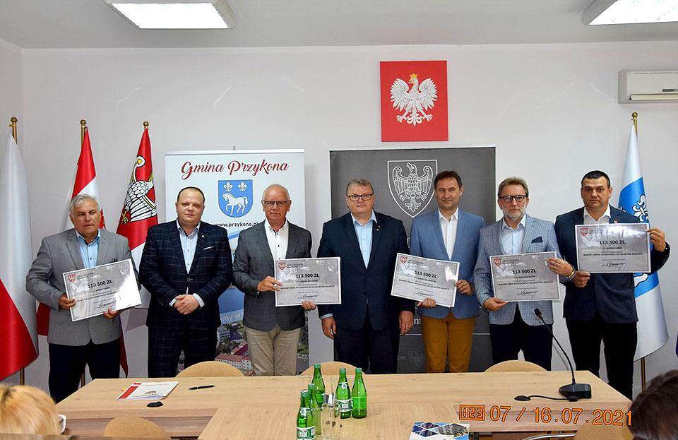 Gminy ze wsparciem Samorządu Województwa Wielkopolskiego