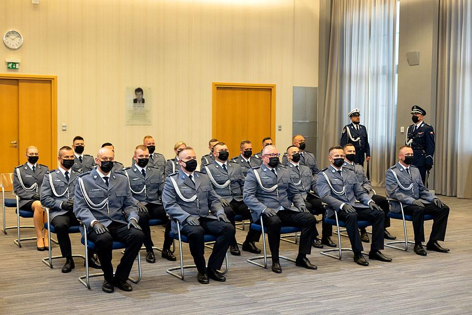 Policjanci z Turku wśród odznaczonych odznaką Andrzeja Struja