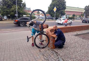 Darmowe znakowanie rowerów w KPP Turek