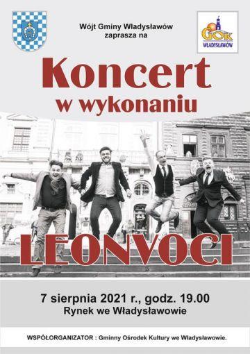 Koncert Leonvoci
