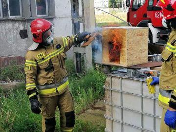 Strażacy z jednostek KSRG ćwiczyli w kompleksie...