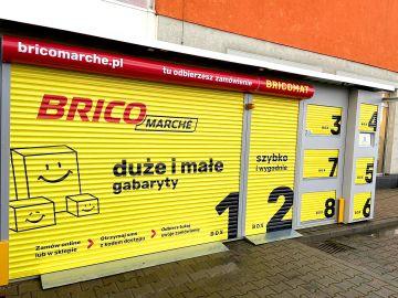 Bricomarché w Turku wprowadziło boksy do bezkontaktowego odbioru zamówień