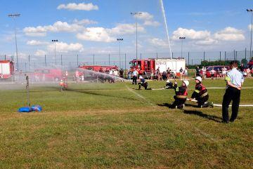 OSP Malanów wygrywa zawody strażackie w Miłaczewie