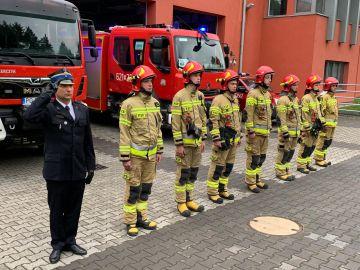 Strażacy z PSP Turek uczcili 77 rocznicę...