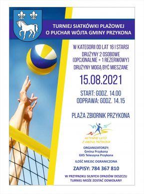 Turniej Siatkówki o Puchar Wójta Gminy