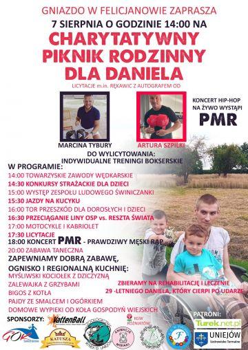 W sobotę zlatujemy do Gniazda w Felicjanowie! Charytatywny Piknik Rodzinny dla Daniela