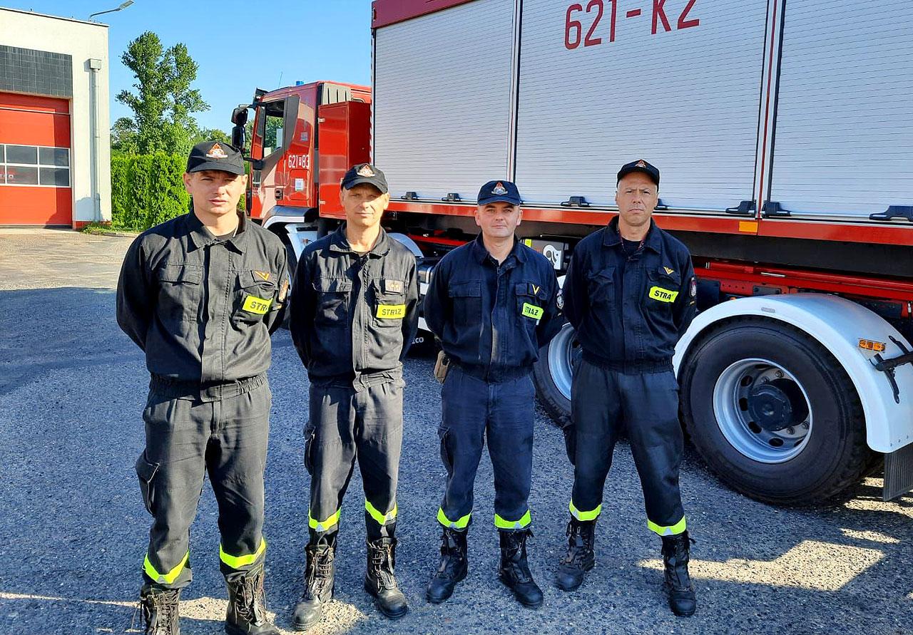 Wideo: Strażacy z PSP Turek na pomoc Grecji. Nasz pluton przygotuje bazę logistyczną dla Wielkopolski.