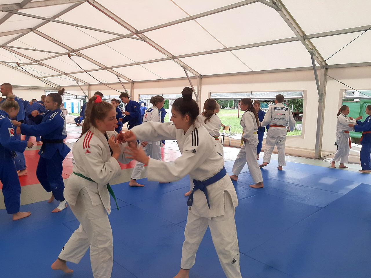 Zawodnicy UKS Judo Tuliszków na zgrupowaniu kadry wojewódzkiej