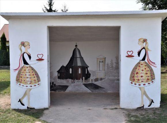 Niezwykły przystanek w gminie Władysławów