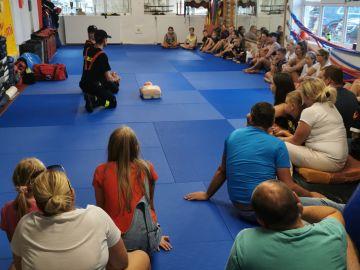 Szkolenie z pierwszej pomocy dla zawodników KSiSW