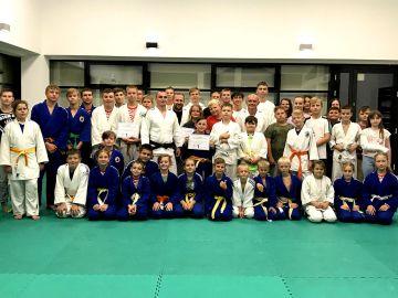 Zawodnicy KS Judo Turek i GKS Kasztelani...