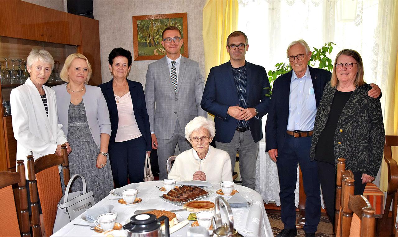 Najstarsza mieszkanka gminy Władysławów skończyła dziś 106 lat