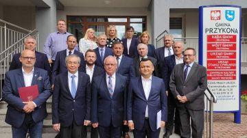 Ambasadorzy Kazachstanu i Uzbekistanu z wizytą...