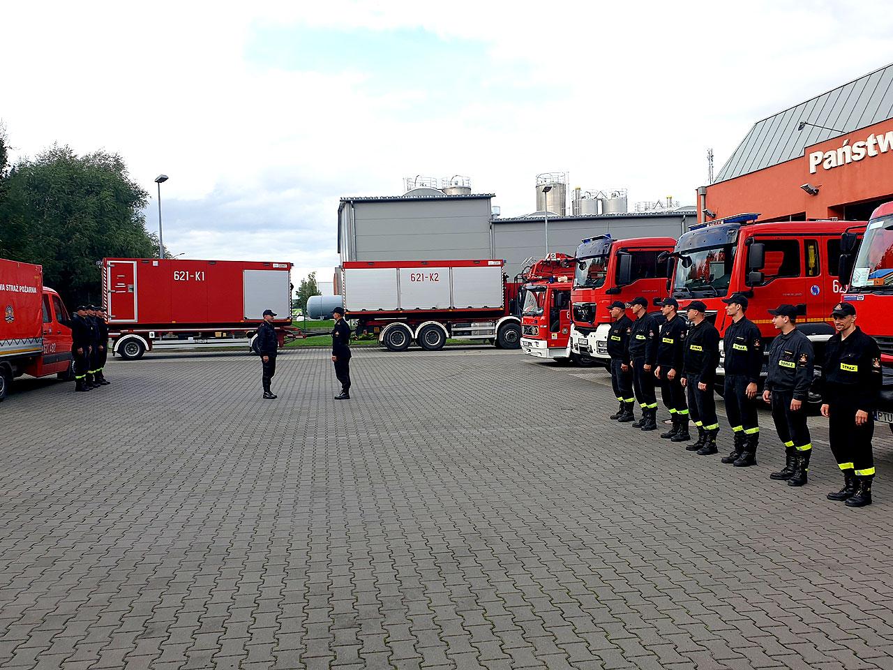 Akcja w Grecji zakończona. Wszyscy strażacy powrócili do jednostki