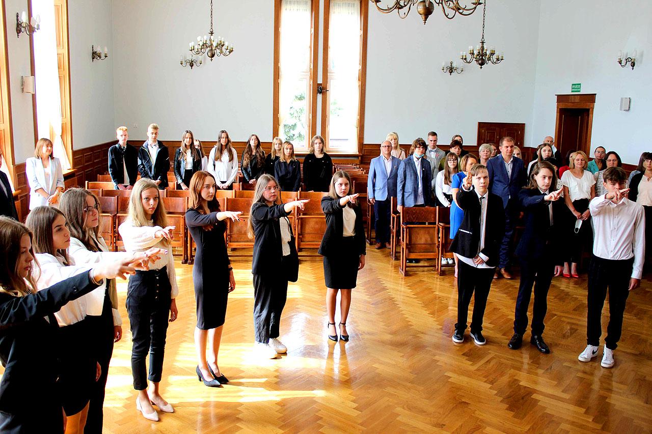Uroczyste rozpoczęcie roku szkolnego w I Liceum Ogólnokształcącym w Turku