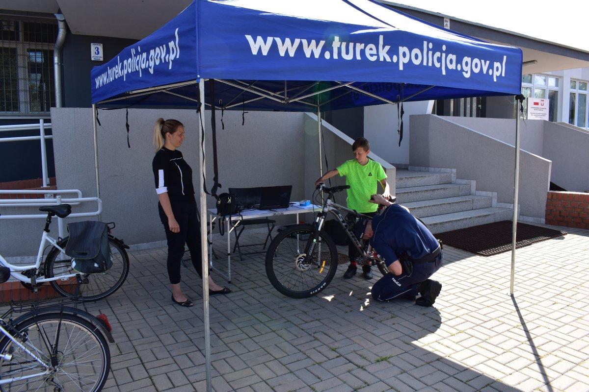 Kolejne terminy znakowania rowerów w KPP Turek