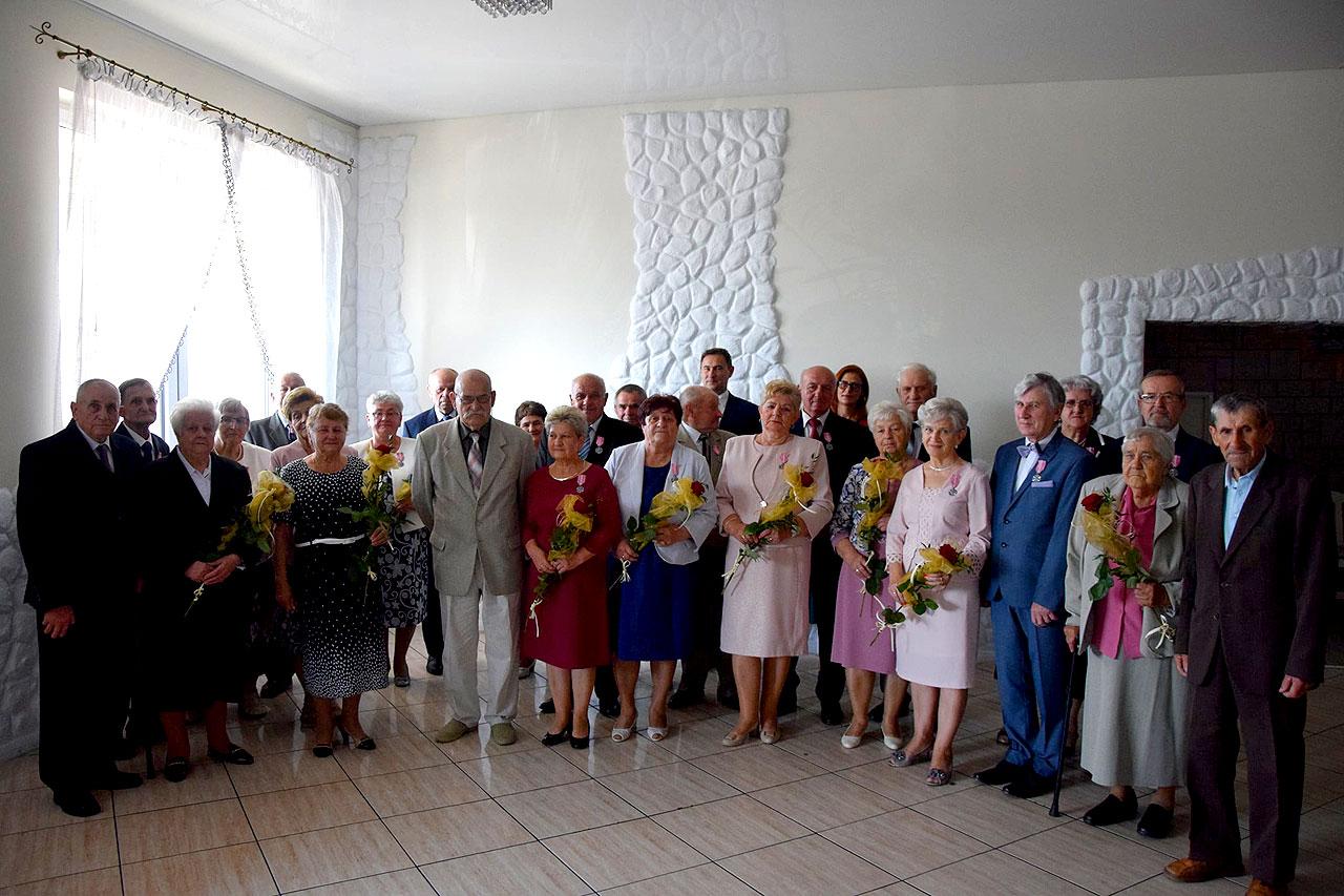 Jubileusz pożycia małżeńskiego w gminie Tuliszków