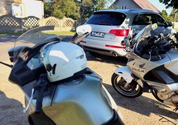 Patrole motocyklowe na drogach powiatu. Efekt?...