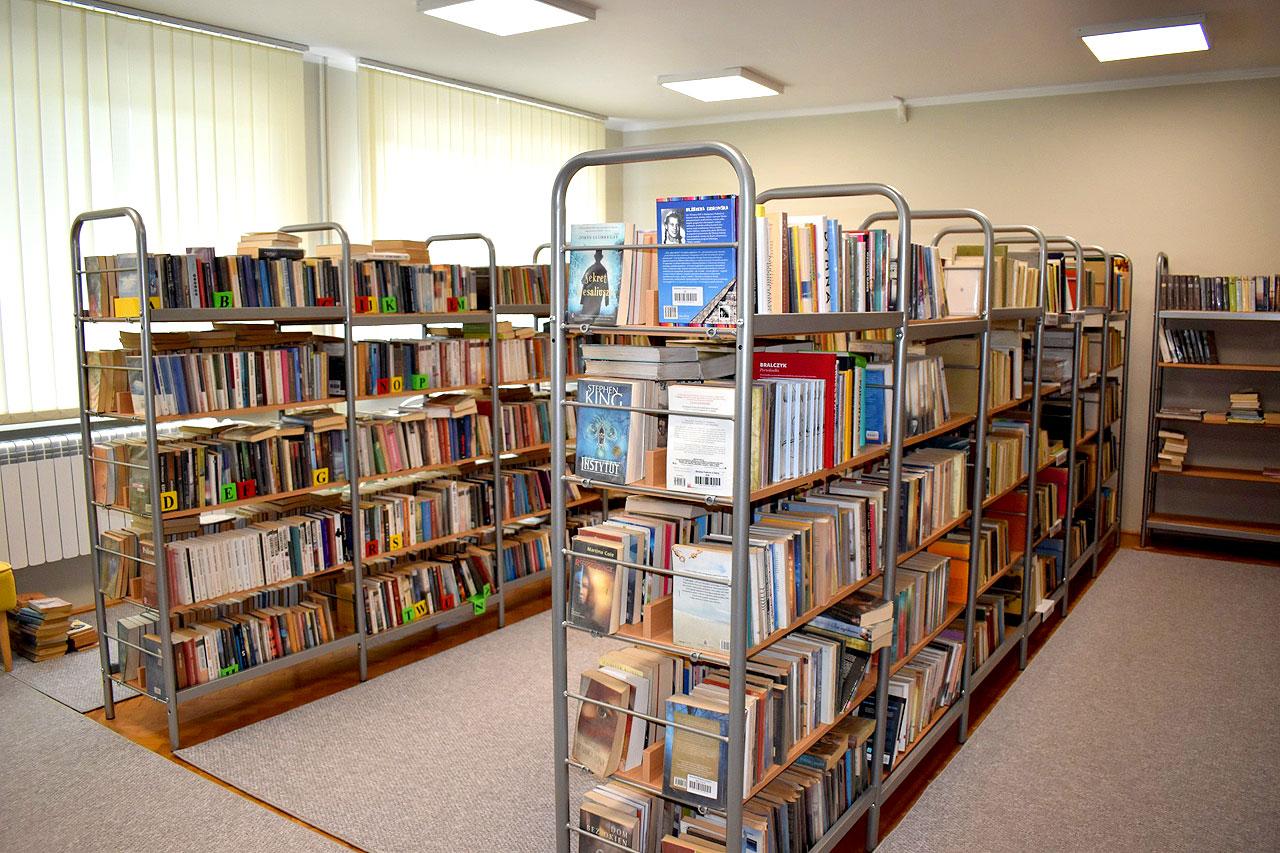 Biblioteka w Dobrej z dofinansowaniem w ramach programu