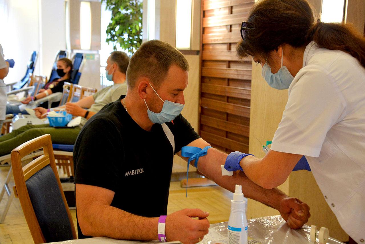 Oddali ponad 13 litrów krwi w zbiórce z Klubem SHDK RP Górnik - fot. Starostwo Powiatowe w Turku