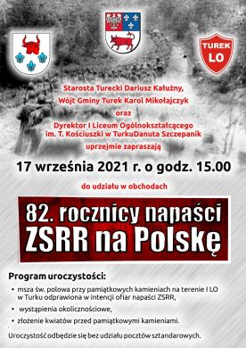 Obchody 82. rocznicy napaści ZSRR na Polskę