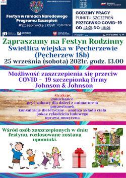 Festyn Rodzinny w Pęcherzewie