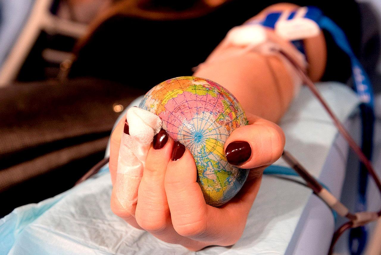 Oddali ponad 15 litrów krwi w ramach poboru w Miejskim Domu Kultury