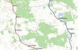 Miasto Turek: Dwie propozycje ułożenia linii kolejowej Turek-Konin. Jeszcze we...