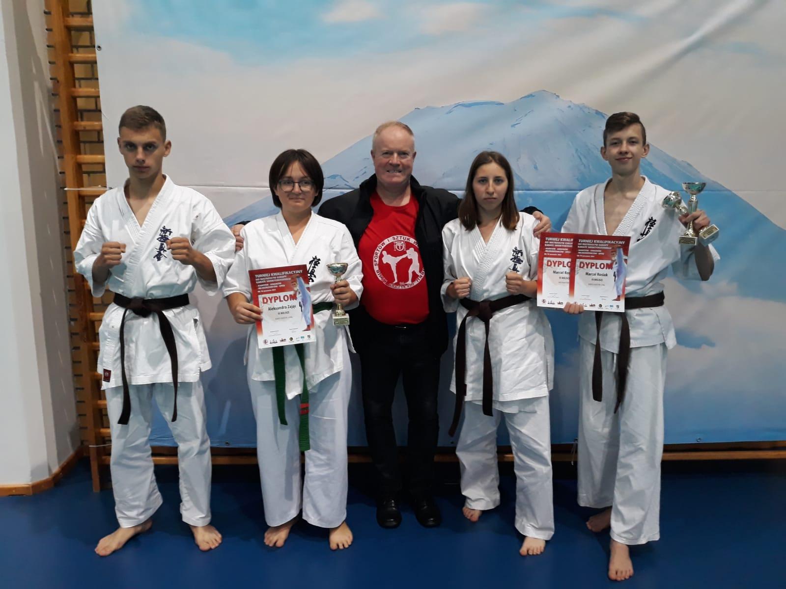 Zawodnicy KSiSW na kwalifikacjach do Mistrzostw Europy Shinkyokushinkai Karate