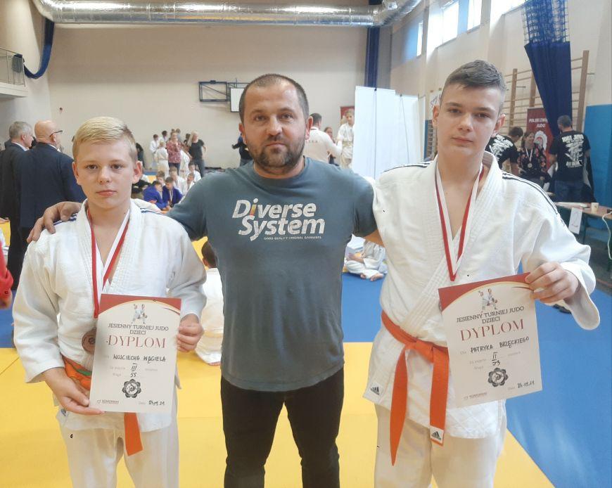 Judo Tuliszków na turnieju w Komornikach