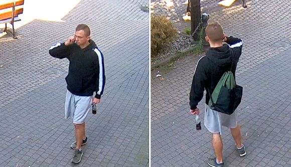 Wideo: Policja poszukuje podejrzanego o...