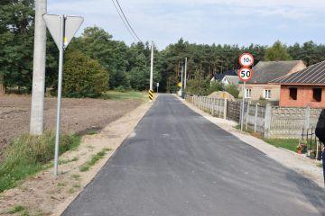 Kolejna inwestycja drogowa zrealizowana w...