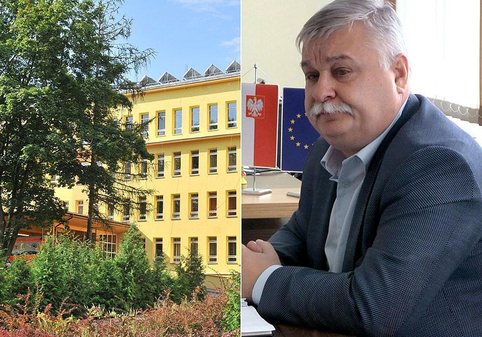 Krzysztof Sobczak zostaje w szpitalu. Wycofał swoje wypowiedzenie.