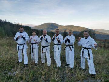 Karatecy na zgrupowaniu w Karkonoszach. Świetny...
