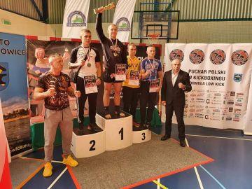 Striker na Pucharze Polski w kickboxingu....