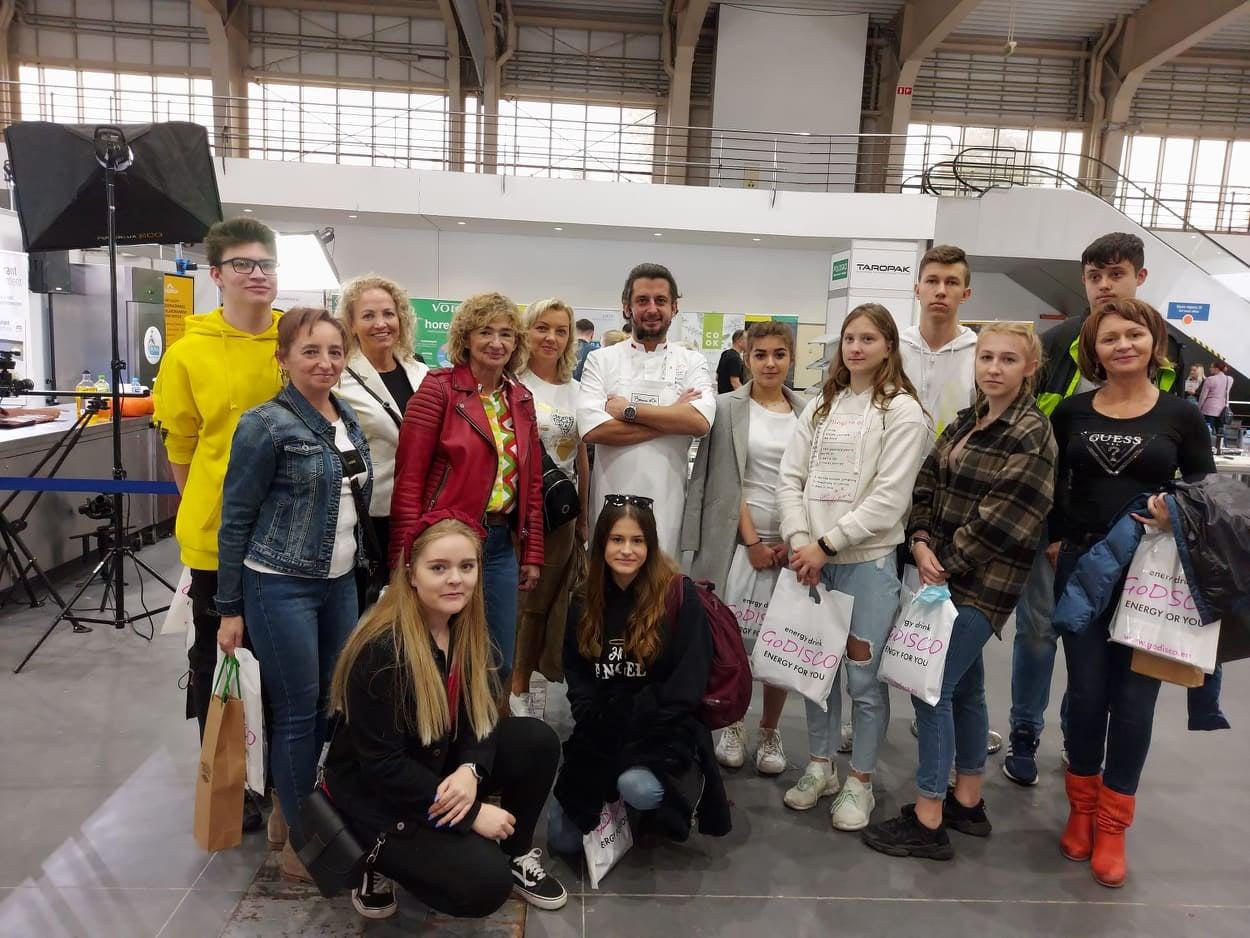 Młodzież ZST na targach Polagra