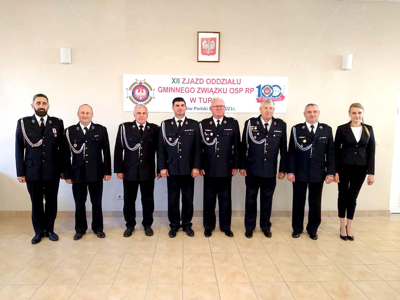 Jednostki OSP Gminy Turek podsumowały 5 lat działalności i wybrały nowe władze