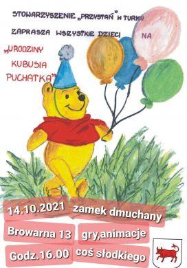 Urodziny Kubusia Puchatka w Przystani