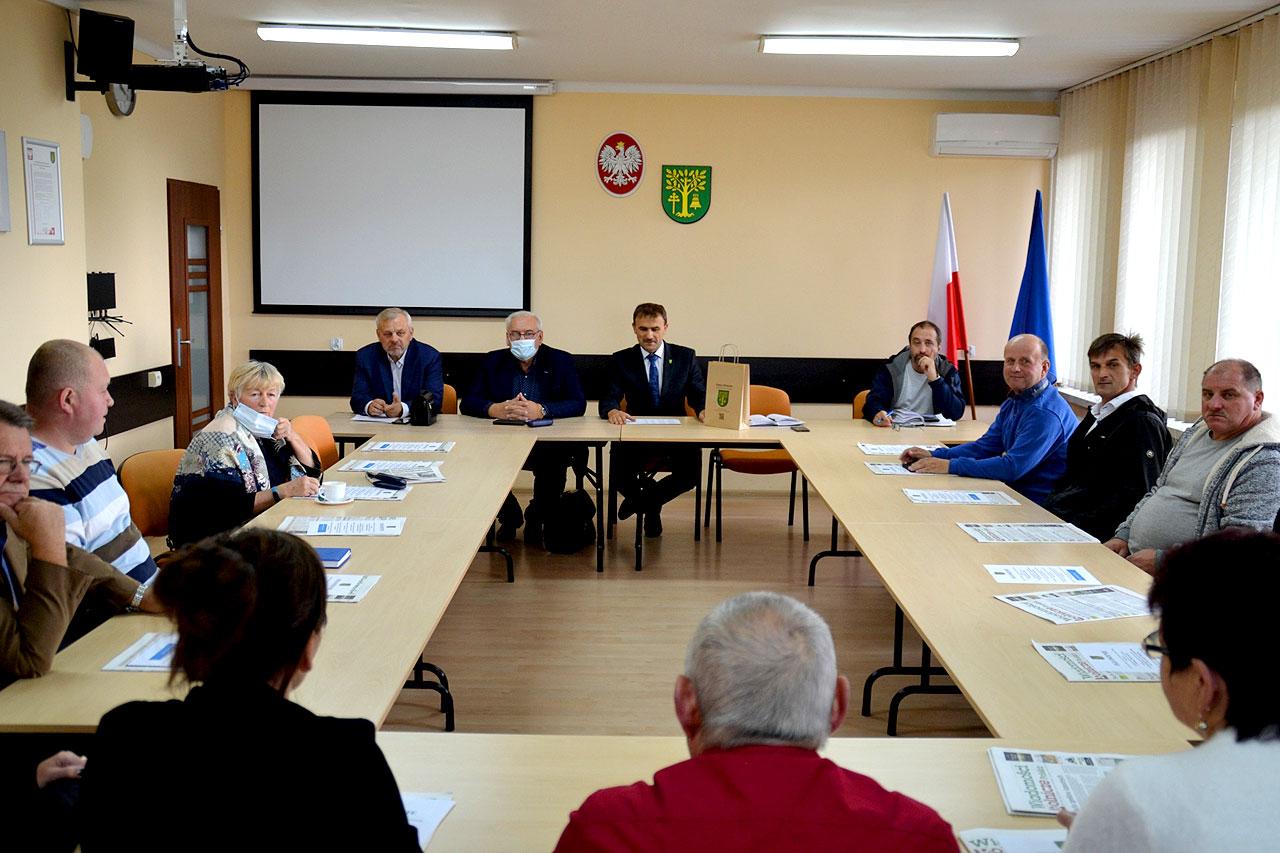 Spotkanie z Sołtysami z gminy Malanów