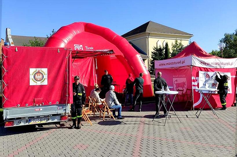 OSP Turek zaprasza na kolejne szczepienia bez rejestracji