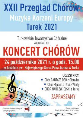 XXII Przegląd Chórów Muzyka Koszeni Europy 2021
