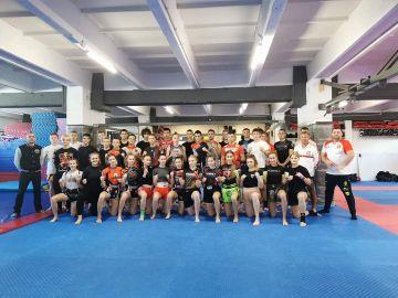 Zawodnicy Strikera na Otwartym Pucharze Karate...
